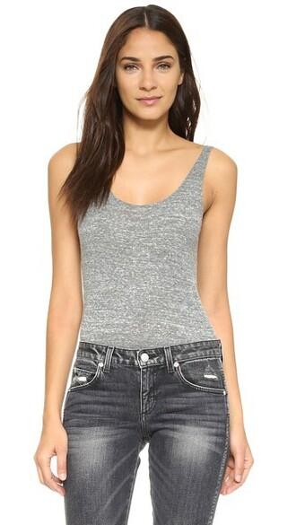 bodysuit grey heather grey underwear