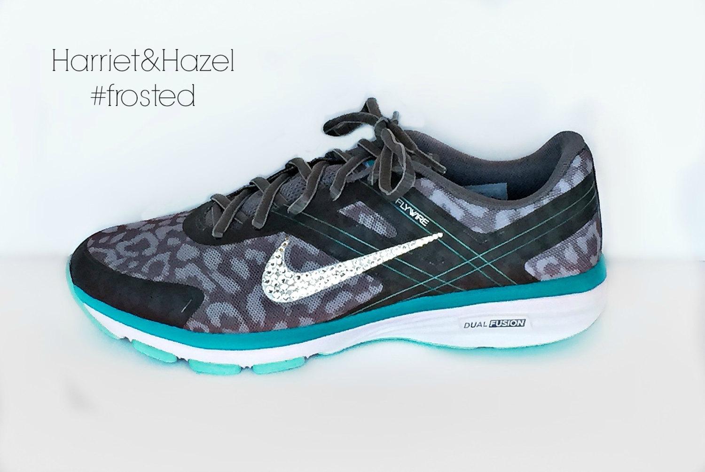 Women s New Release Nike Dual Fusion 2 in Gray Cheetah White ... e531be06e