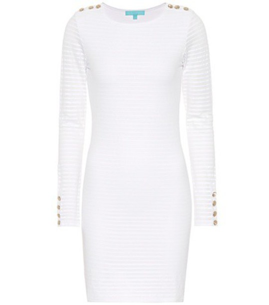 Melissa Odabash dress striped dress white
