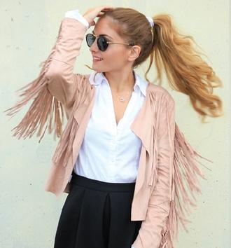 fringes jacket swag jacket streetstyle stylemoi cool