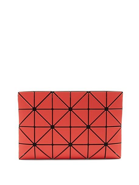 BAO BAO ISSEY MIYAKE pouch red bag
