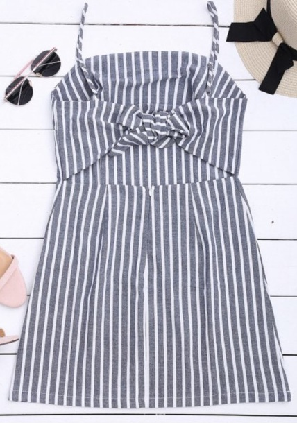dress girly stripes striped dress cute cute dress