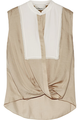 top silk beige