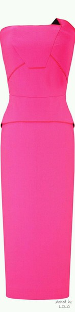 dress pink dress bodycon dress