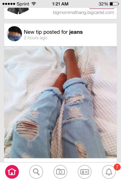 jeans ripped skinny jeans light blue