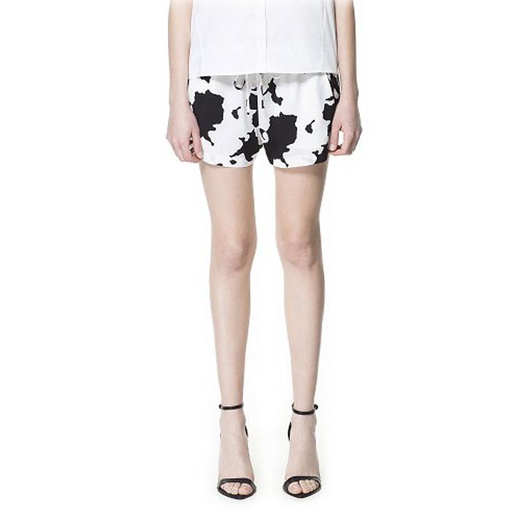 Cute Cheap Cow print shorts X921 - Shorts Online Shopping Free Shipping 1250065317