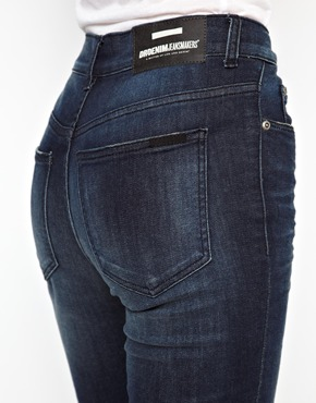 Dr Denim | Dr Denim Regina High Waist Skinny Jeans at ASOS