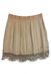 Ropa : falda de encaje