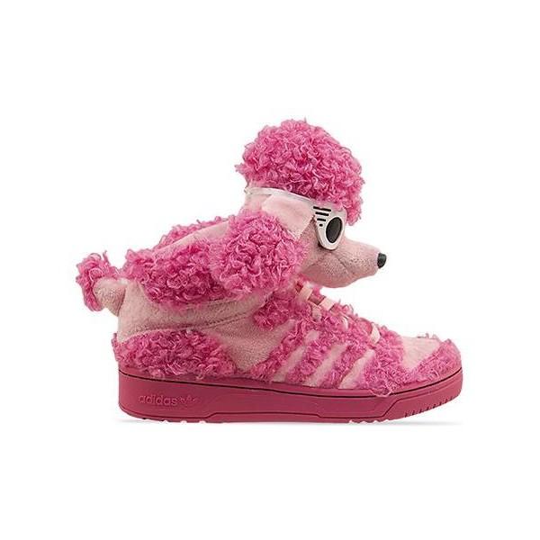 Adidas Originals X Jeremy Scott JS Poodle - Polyvore
