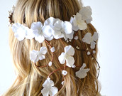 Flower head wreath on etsy, a global handmade and vintage marketplace.