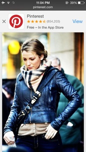 scarf,burberry,blake lively