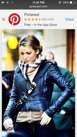 burberry scarf blake lively