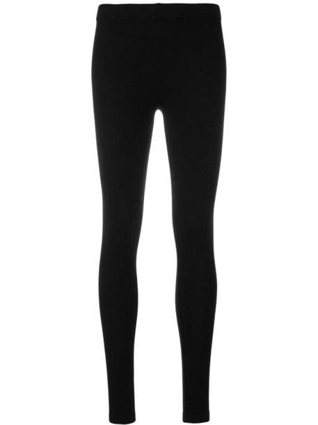 Snobby Sheep leggings women black silk pants