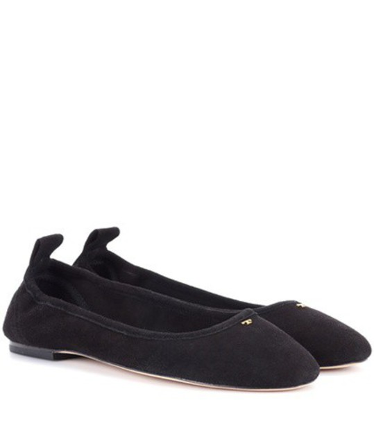 suede black shoes