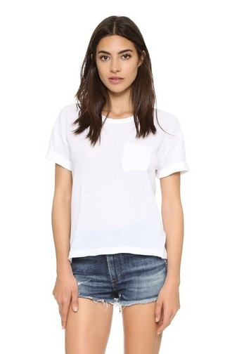t-shirt pocket t-shirt white t-shirt