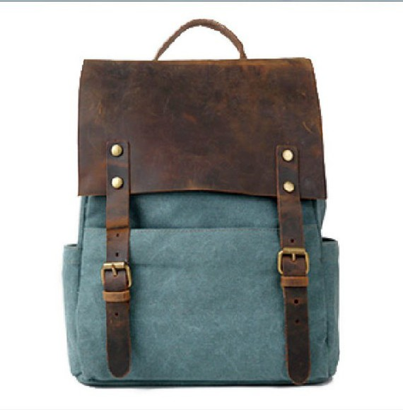 bag leather bag vintage vintage bag backpack