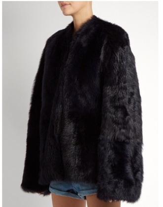 coat black black coat