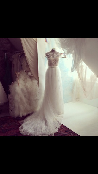 dress wedding dress white dress white lace dress