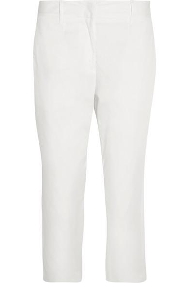 Blend piqué tapered pants