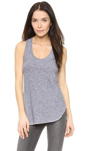 tunic racerback top