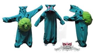 pajamas pokemon bulbasaur onesie