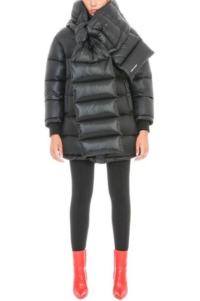 Balenciaga jacket puffer jacket black
