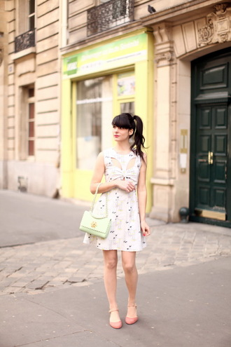 the cherry blossom girl shoes bag dress