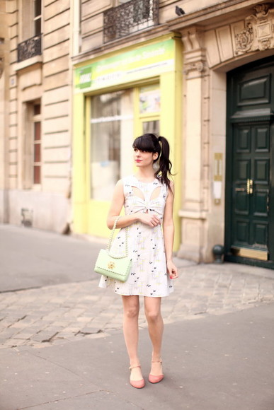 the cherry blossom girl dress bag shoes
