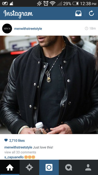 leather jacket suede jacket menswear