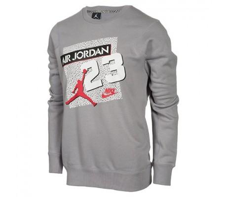 Sweat pour homme Jordan 23 Archive gris 614201-025