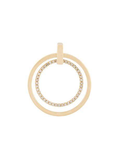 Asherali Knopfer women gold grey metallic jewels