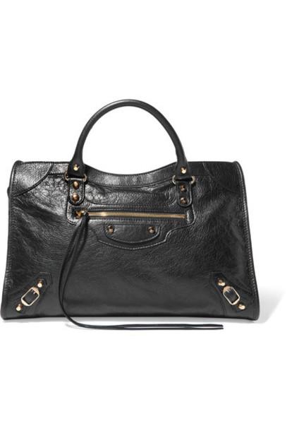 Balenciaga classic leather black bag