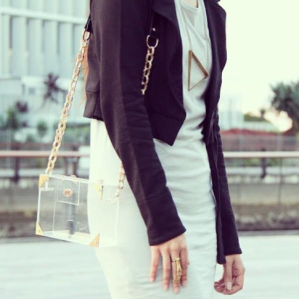 bag ekoluv jacket dress jewels