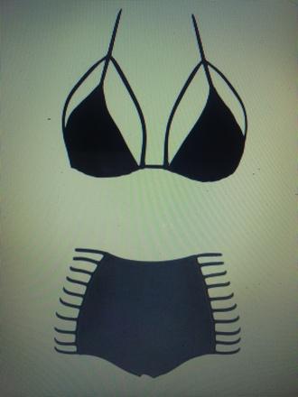 swimwear high waisted bikini l space lspace 2016 elite fashion swimwear black bikini high waist bottoms