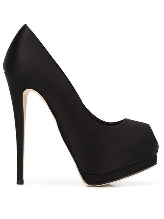 pumps platform pumps black shoes