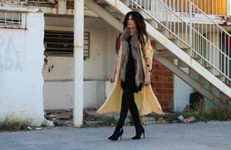 madame rosa blogger jacket t-shirt jewels coat pants shoes
