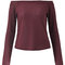 Fashionable women sexy off-shoulder knitted long sleeve tops online - newchic