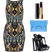 dress,etnic,bodycon,shoes