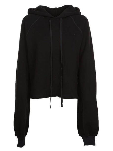 BEN TAVERNITI UNRAVEL PROJECT hoodie classic black sweater