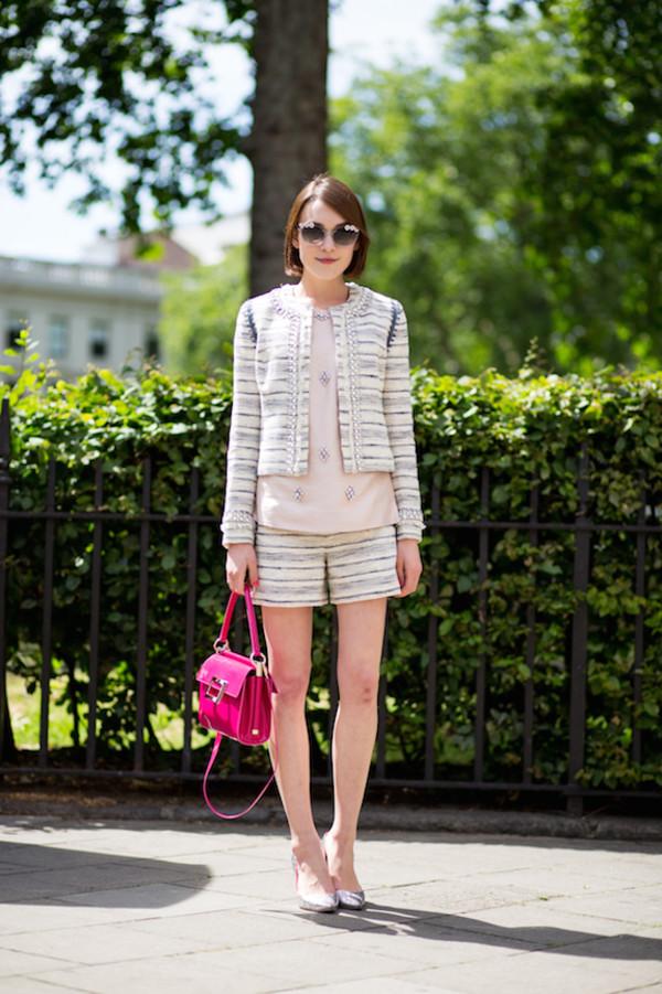 la petite anglaise jacket top sunglasses shoes bag