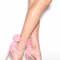 Pom date faux suede heels nude black fuchsia blue pink green - gojane.com
