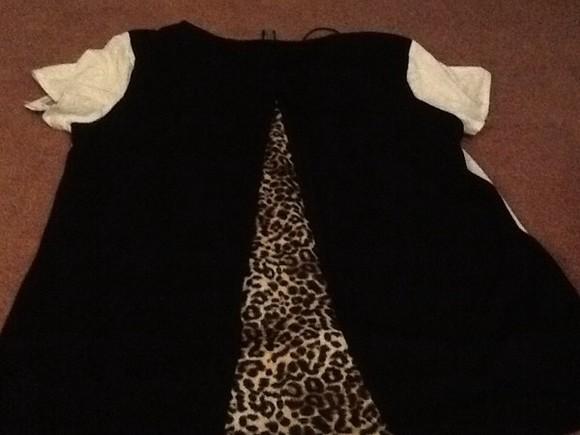 animal print blouse