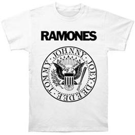 Ramones presidential seal on white t