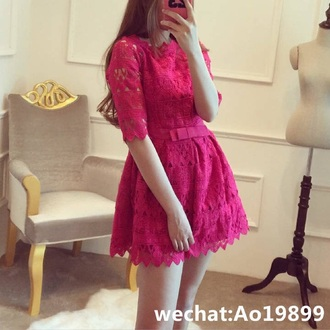 dress pink pink dress pink lace dress lace dress see through