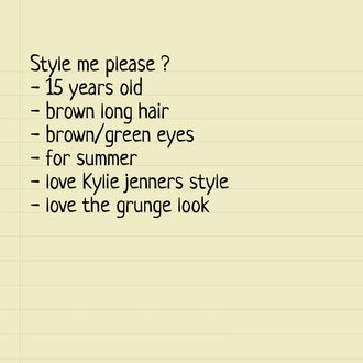 t-shirt grunge kylie jenner jewels