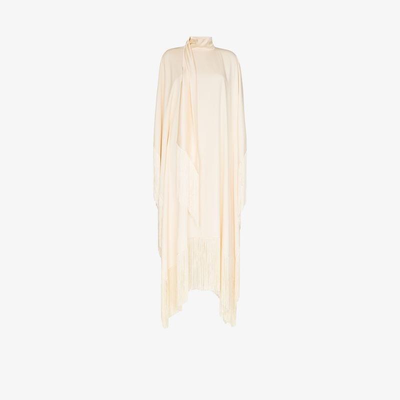 Taller Marmo Mrs Ross tasselled poncho dress