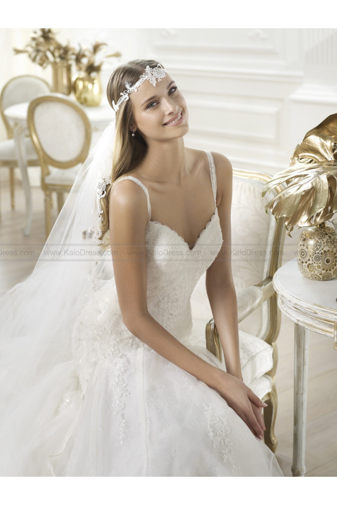 Pronovias Wedding Dresses - Style Lary - Wedding Dresses 2014 New - Formal Wedding Dresses