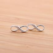 jewels,jewelry,stud,stud earrings,earrings,infinite,infinity,infinity earrings,infinite earrings'