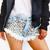 Wunderlust Stoner Studded Babe Shorts | RUNWAYDREAMZ