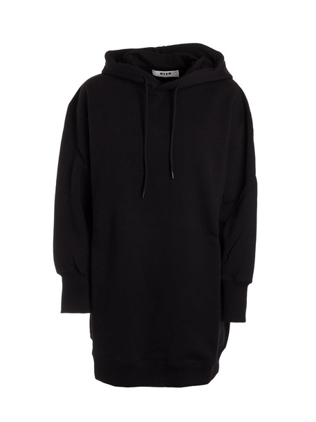 MSGM hoodie oversized black sweater
